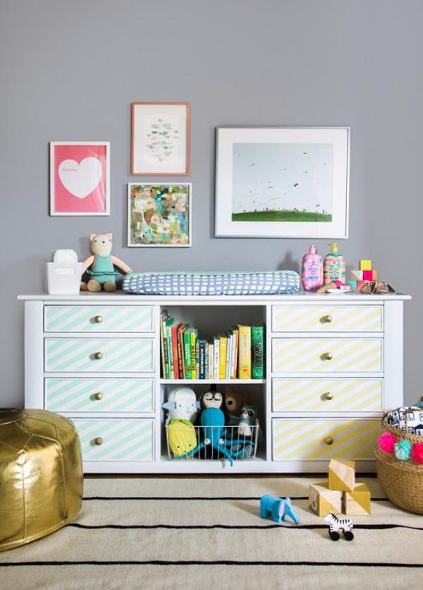 a diy dresser for the nursery and beyond... #DIY #bedroom #furniture #woodworking #dresser