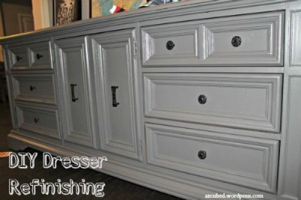 DIY Dresser Refinishing! • Domestic Superhero #DIY #bedroom #furniture #woodworking #dresser