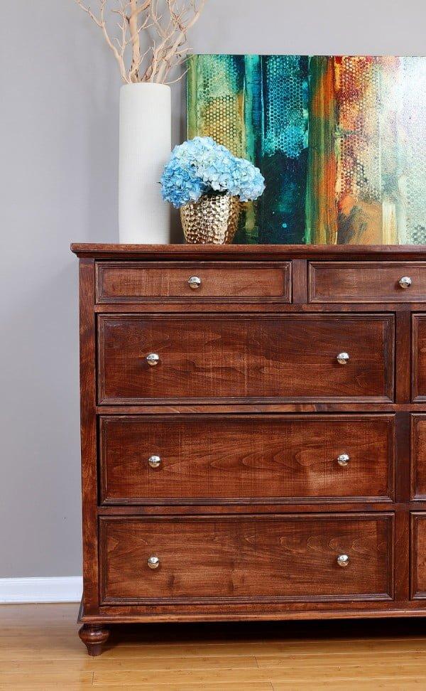How to build a DIY dresser #DIY #bedroom #furniture #woodworking #dresser