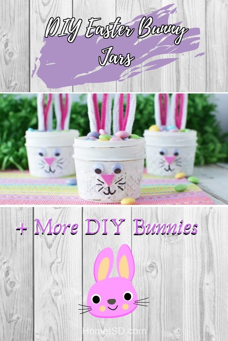 DIY Easter Bunny Jars  s art