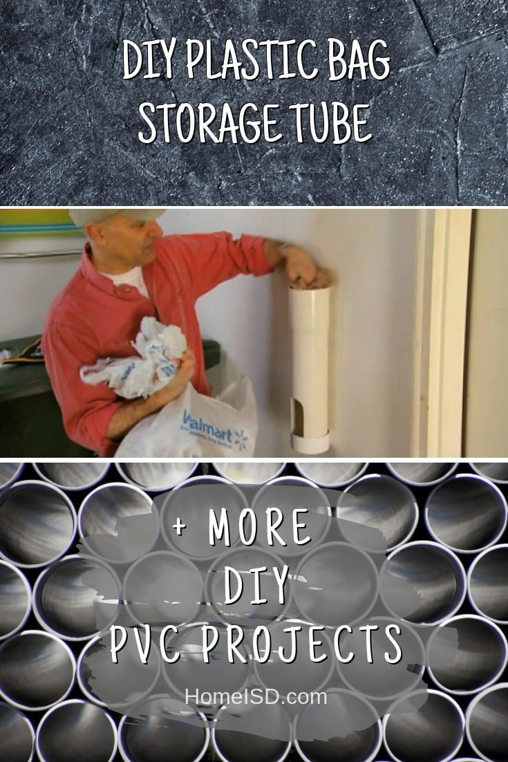 DIY Plastic Bag Storage Tube