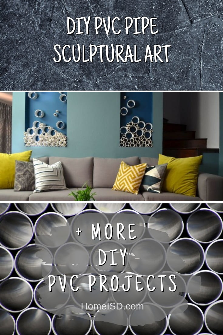 DIY PVC Pipe Sculptural Art