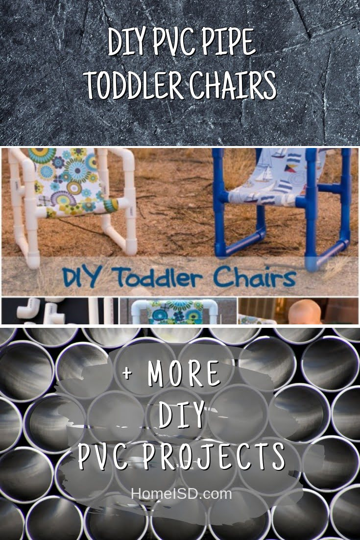 DIY PVC Pipe Toddler Chairs
