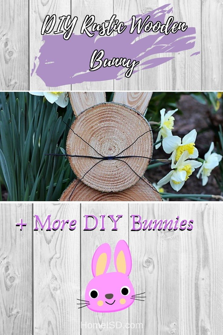 DIY Rustic Wooden Bunny  s art