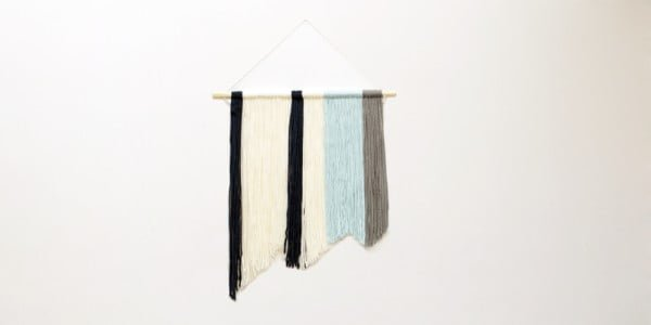 DIY Yarn Wall Hanging Tutorial