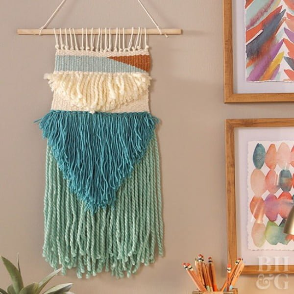 Make a Gorgeous Woven Wall Hanging