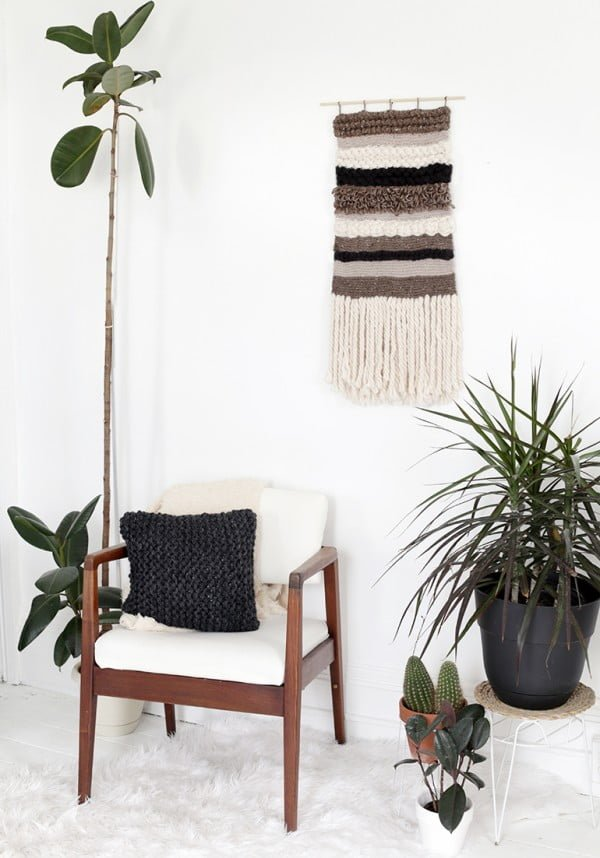 DIY Knit/Crochet Wall Hanging