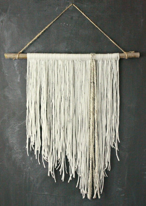 #walldecor #wallhanging #DIY #craft #homedecor