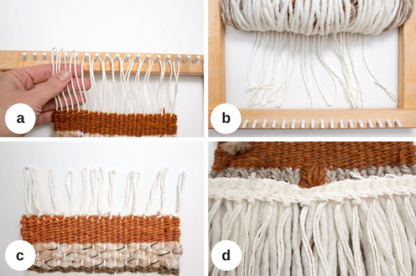 DIY Woven Wall Hanging #walldecor #wallhanging #DIY #craft #homedecor