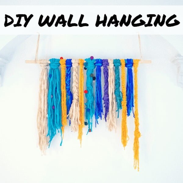 Handmade DIY Wall Hanging Tutorial