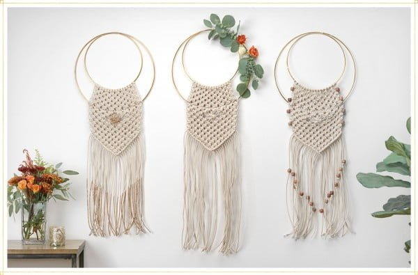 Chic Macramé Wall Hanging DIY for Beginners