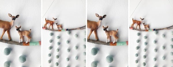 DIY TUTORIAL: Create a Woodland Wall Hanging