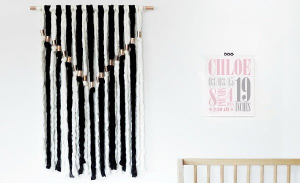 DIY Wall Hanging for the Nursery