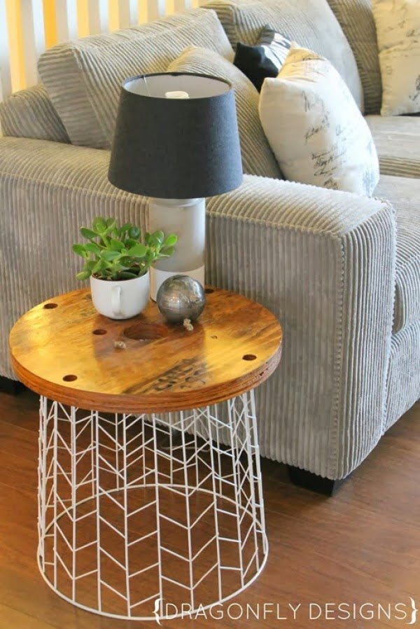 DIY Accent Table Tutorial » Dragonfly Designs