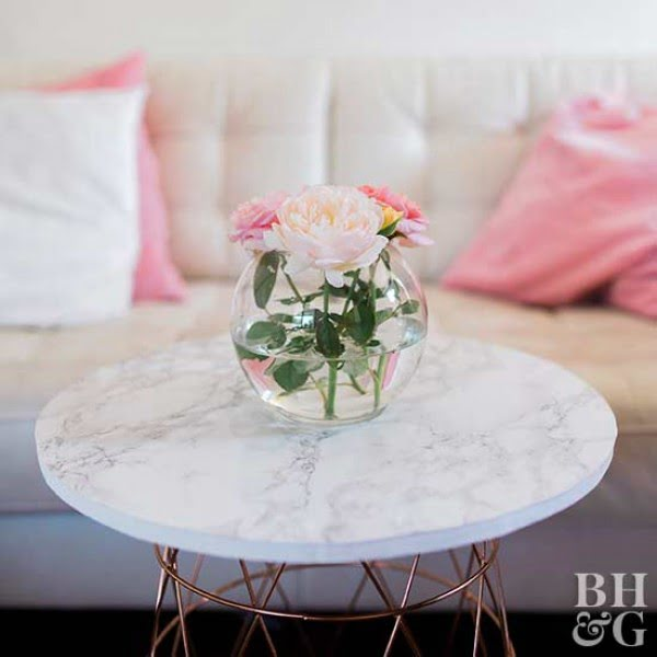 Make a Basket Coffee Table This Weekend