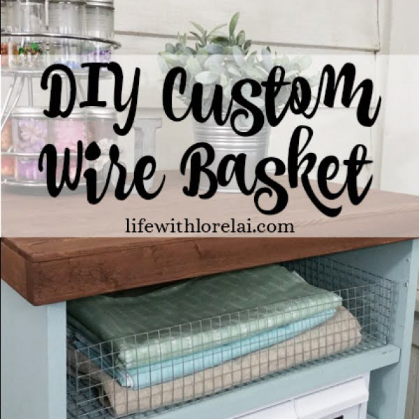 Make A DIY Custom Wire Basket