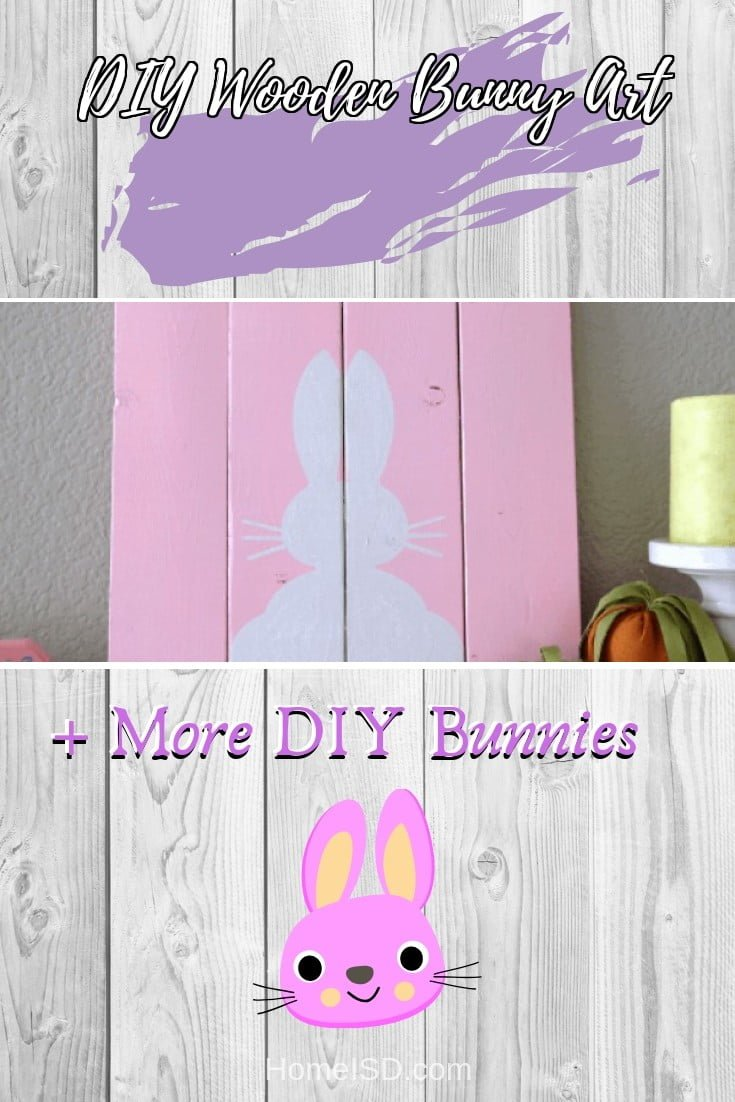 DIY Wooden Bunny Art  s art