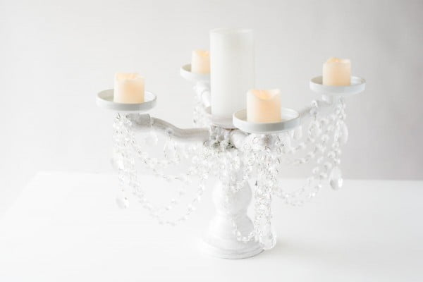 DIY Candelabra PVC Pipe Craft  pipe