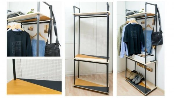 DIY PVC Pipe Clothes Rack  pipe