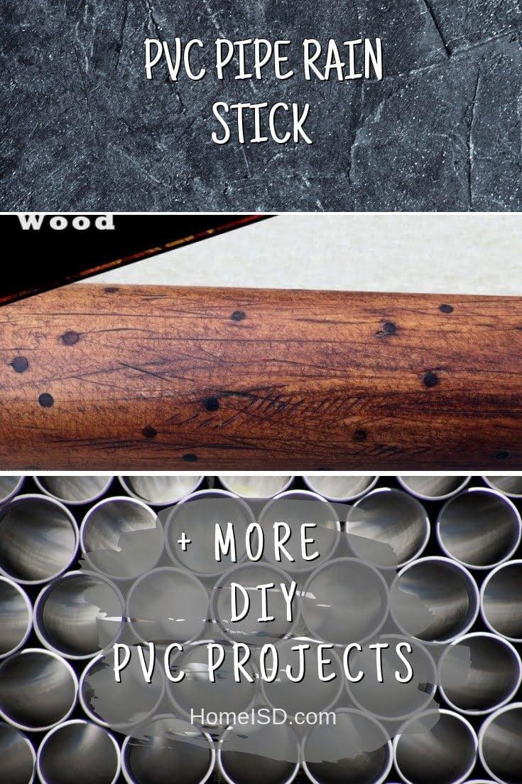 PVC Pipe Rain Stick #pvc #DIY #craft #homedecor