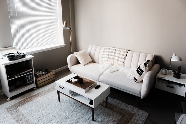 Scandinavian decor style living room