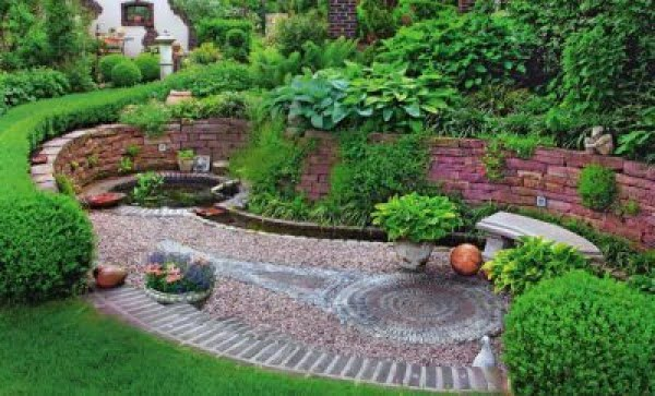 How to make natural pebble mosaic and stepping stones for your garden    path