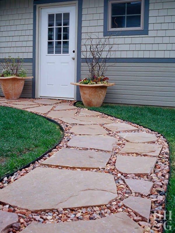 Gorgeous Garden Path DIY    path