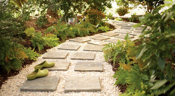 How to Build a Paver Garden Path    path