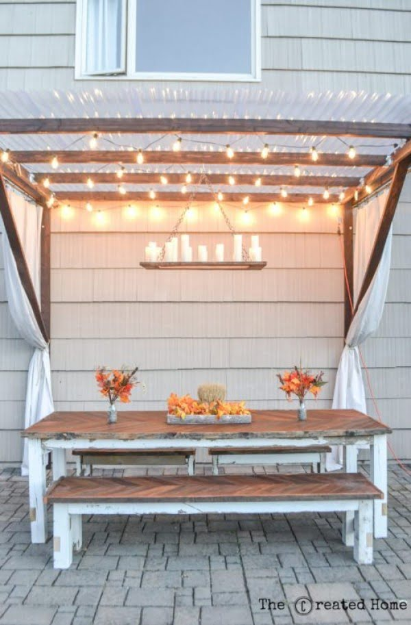 24 Easy DIY Pergola Projects That You Can Build on a Budget