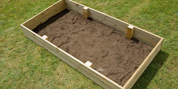 #DIY #gardening #raisedgardenbed #outdoors