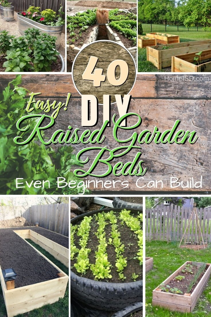 Make the best raised garden bed the easy way. Great ideas!