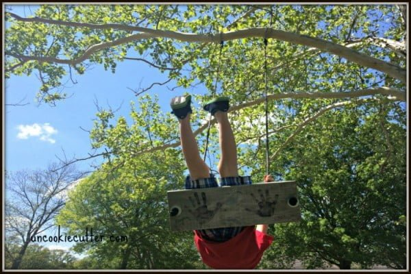 EASY Tree Swing DIY