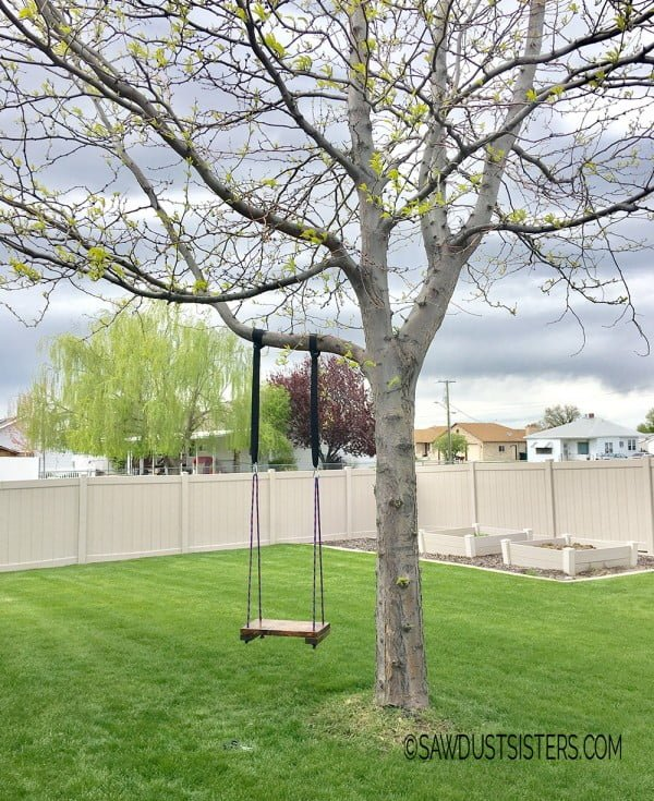 Super Easy DIY Tree Swing