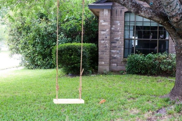 How to Make a DIY Tree Swing