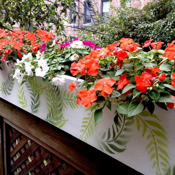 Easy Flower Box You Can Make