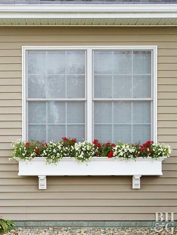 Install a Window Box in 3 Easy Steps