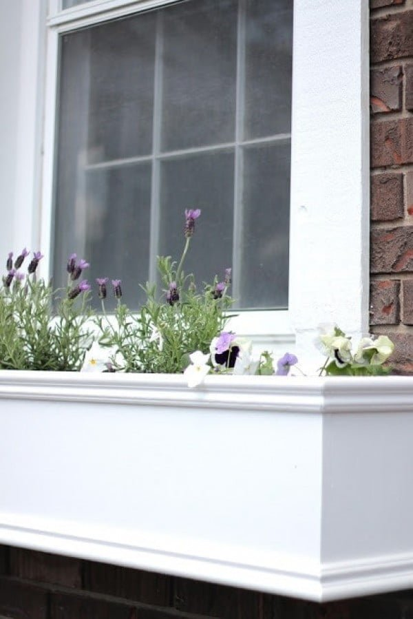 How to Make Window Boxes (DIY Window Planters)