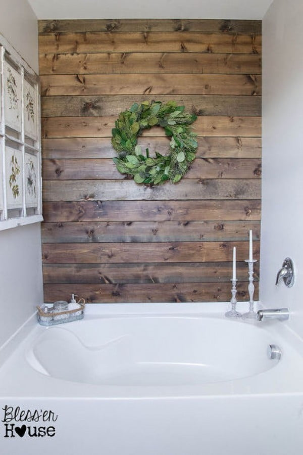 35 Easy & Gorgeous DIY Rustic Bathroom Decor Ideas on a Budget   decor