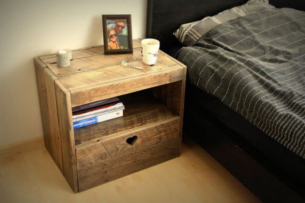 25 Easy DIY Nightstand Ideas That You Can Build on a Budget   decor