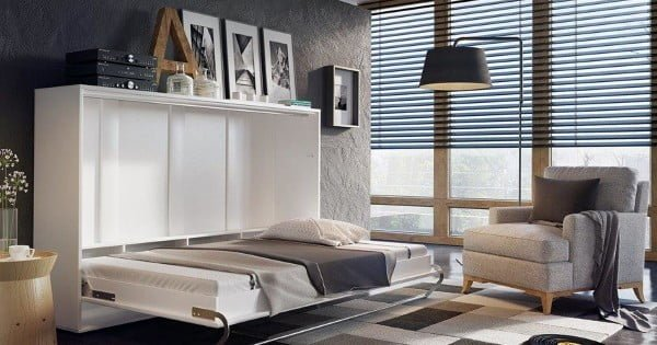 19 Easy DIY Murphy Beds That You Can Build on a Budget   decor