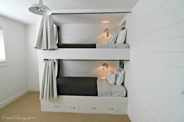 25 Easy & Beautiful DIY Bunk Beds You Can Build on a Budget   decor