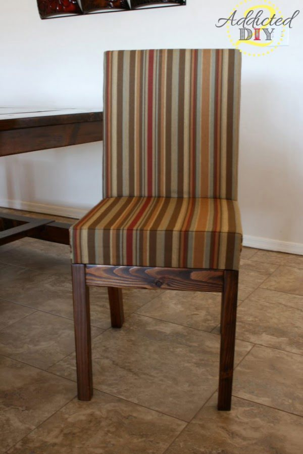 How To Build Upholstered Dining Chairs #DIY #chair #woodworking #furniture