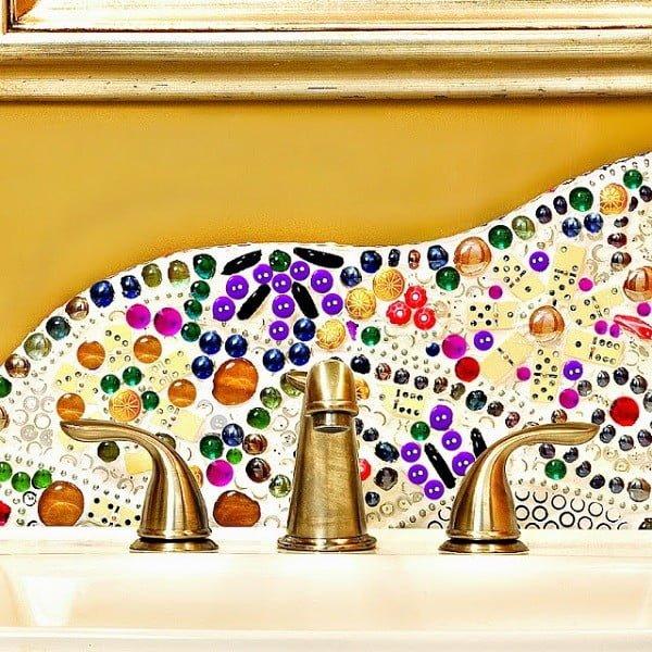 20 Easy DIY Backsplash Ideas to Make Your Kitchen Unique on a Budget #DIY #kitchen #kitchendesign #homedecor