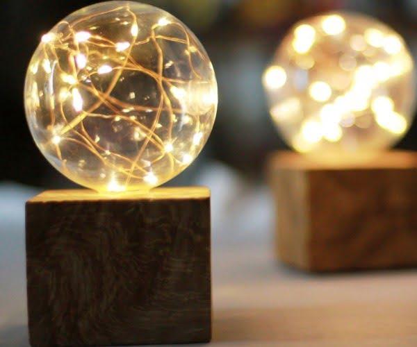 23 Creative DIY Fairy Light Decor Ideas for a Little Magic at Home #DIY #lighting #homedecor