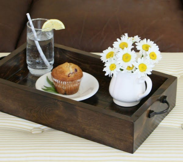 68 Easy & Creative DIY Serving Trays for an Instant Decor Boost