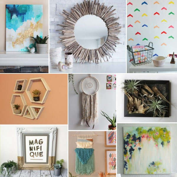 600+ Best DIY Wall Decor Ideas on a Budget