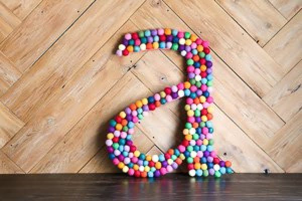 59 Easy & Gorgeous DIY Monogram Ideas for Personalized Decor