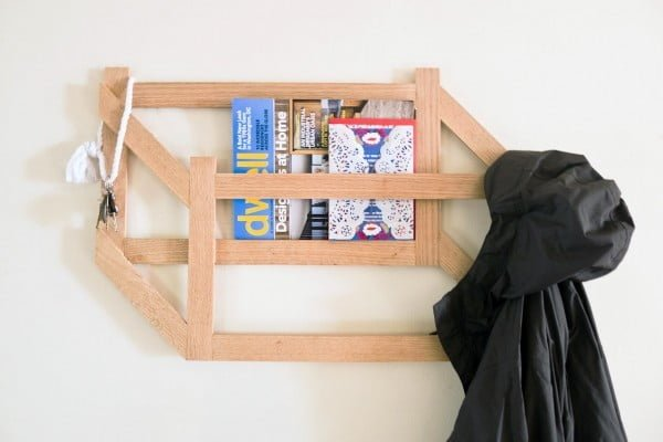 41 Easy & Creative DIY Coat Racks to Tidy Up Your Entryway in Style