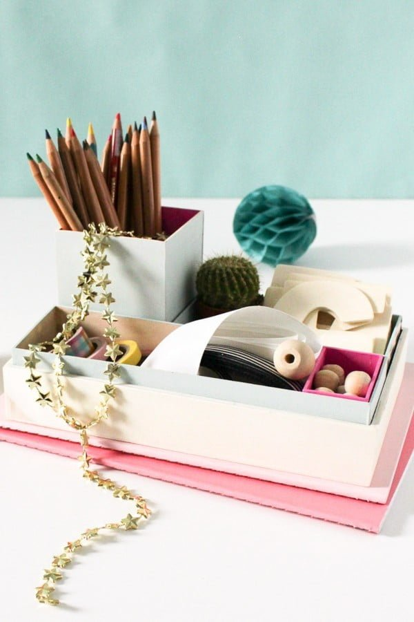 15 Brilliant DIY Organizer Box Ideas You Can Make in Minutes
