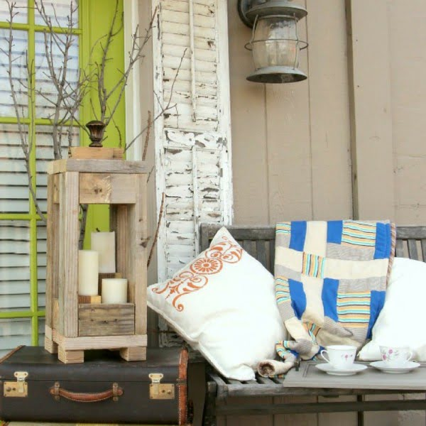 Easy Outdoor Decor: How to Make Lanterns from Scrap Wood    working
